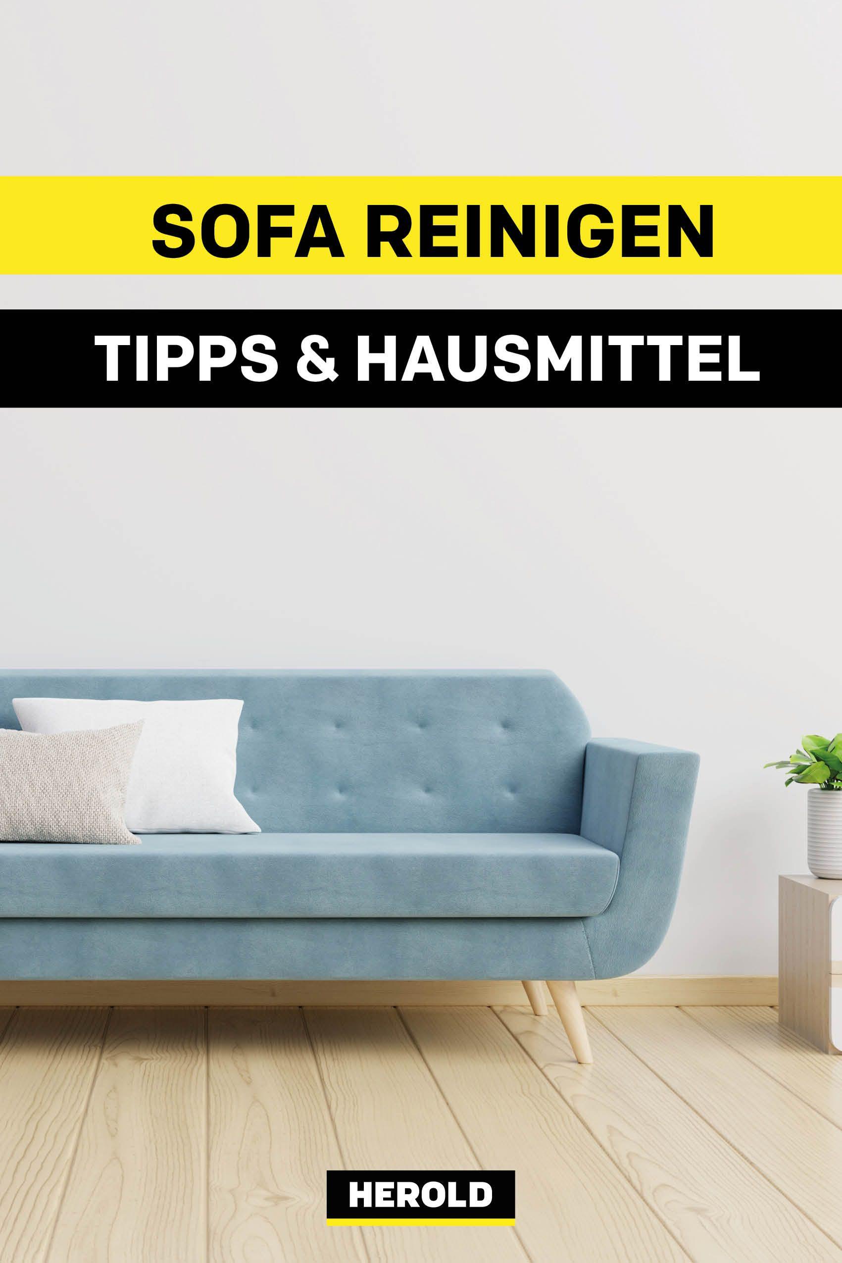 Tschuss Flecken Mit Diesen Hausmitteln Wird Dein Sofa Wieder Wie
