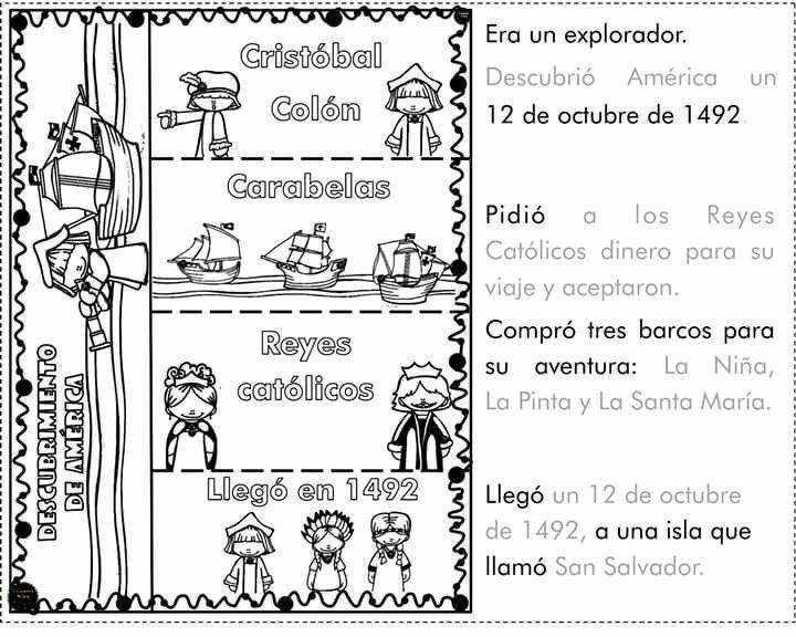 Pin De Grissy Info En Personal Social Actividades De Ensenanza Notas Para Los Padres Cristobal Colon Para Ninos