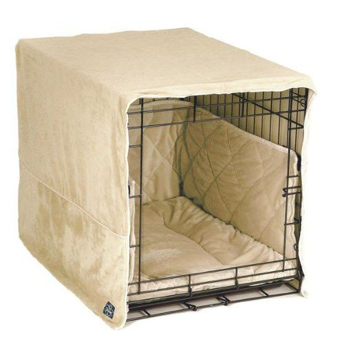 Pet Dreams Plush Cratewear Set, Ivory Fits 30-Inch Crates, 3-Piece - http://www.thepuppy.org/pet-dreams-plush-cratewear-set-ivory-fits-30-inch-crates-3-piece/
