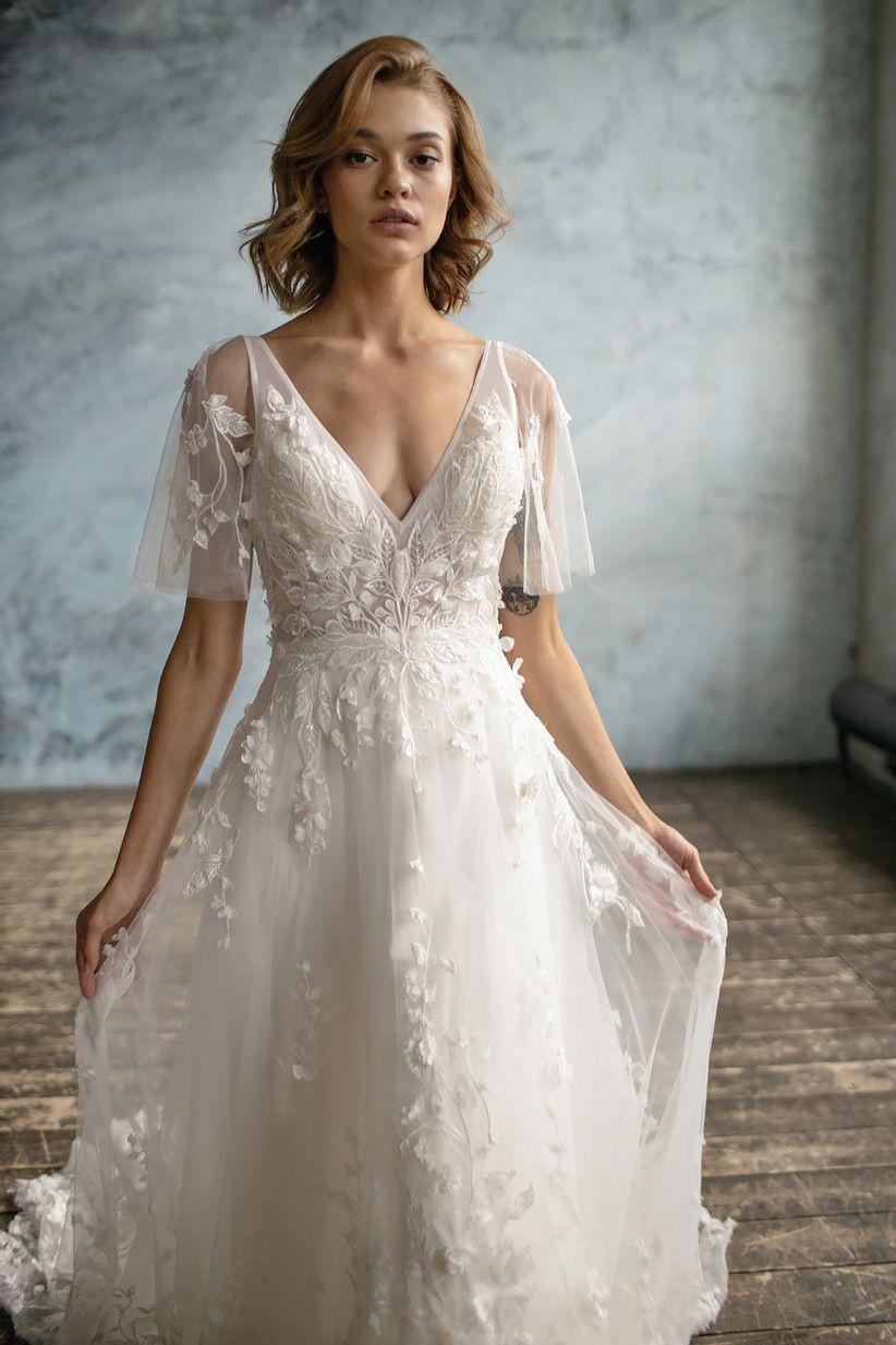 42 of the Most Beautiful Boho Wedding Dresses