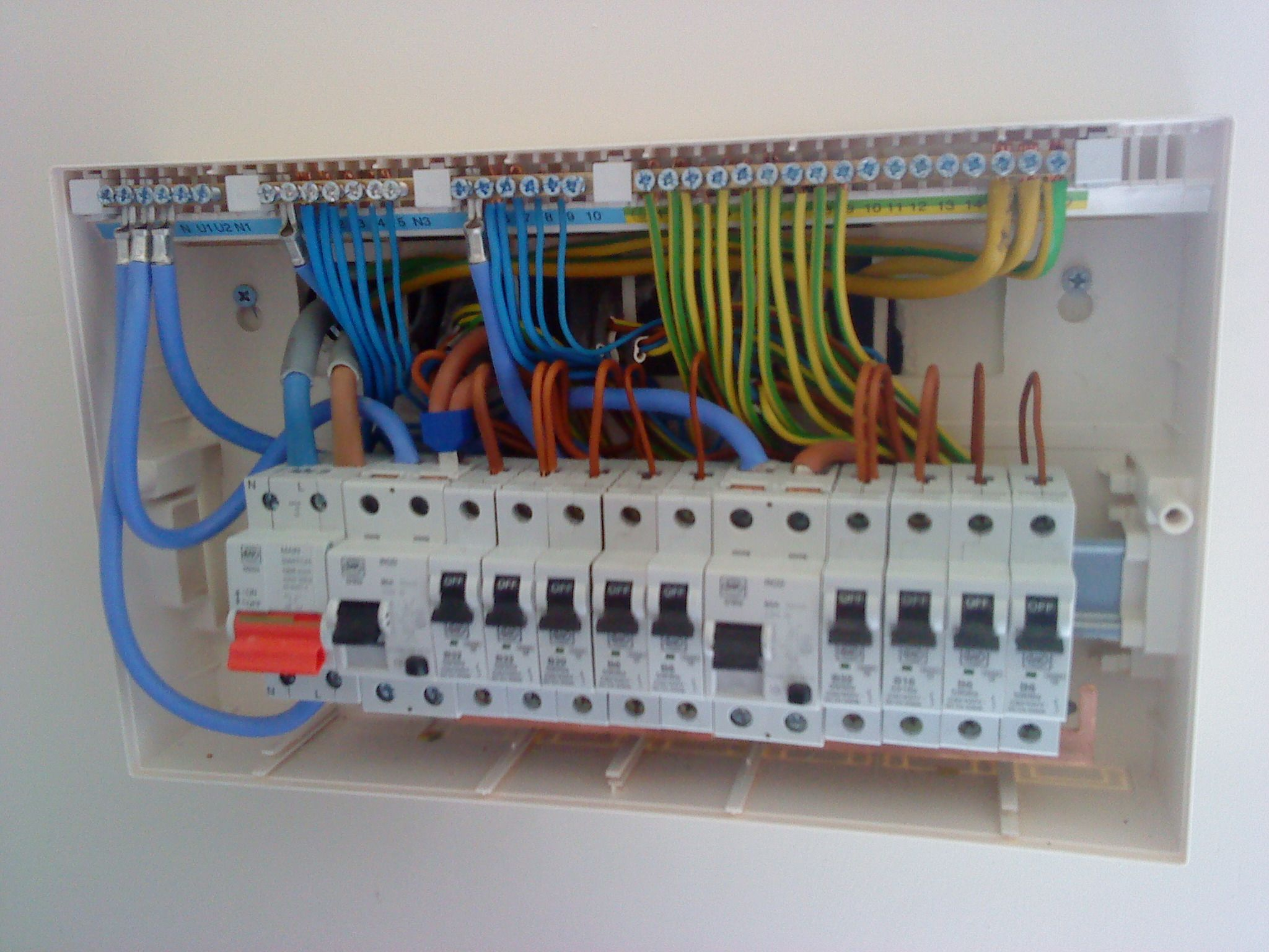 House Fuse Box Data Wiring Diagram A Home Circuit Breaker New Simple Old School