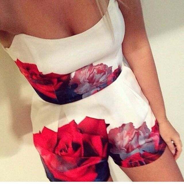 NEW!COACHELLA CHIC BOHO SHORTS  FESTIVAL OUTFIT WHITE TWO PIECE SHORT SET FLORAL #Unbranded #Romper