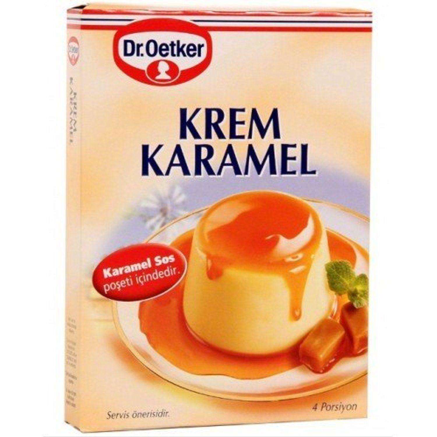 Dr Oetker Flan Creme Caramel 37 Ounce Boxes English Instructions