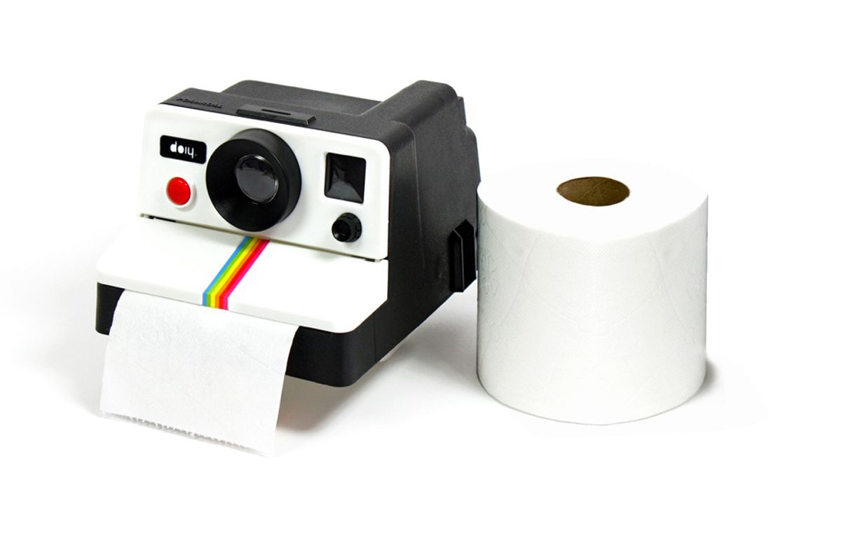 new high good quality exclusive deals Porta-rollos con forma de máquina Polaroid | Toilet paper ...