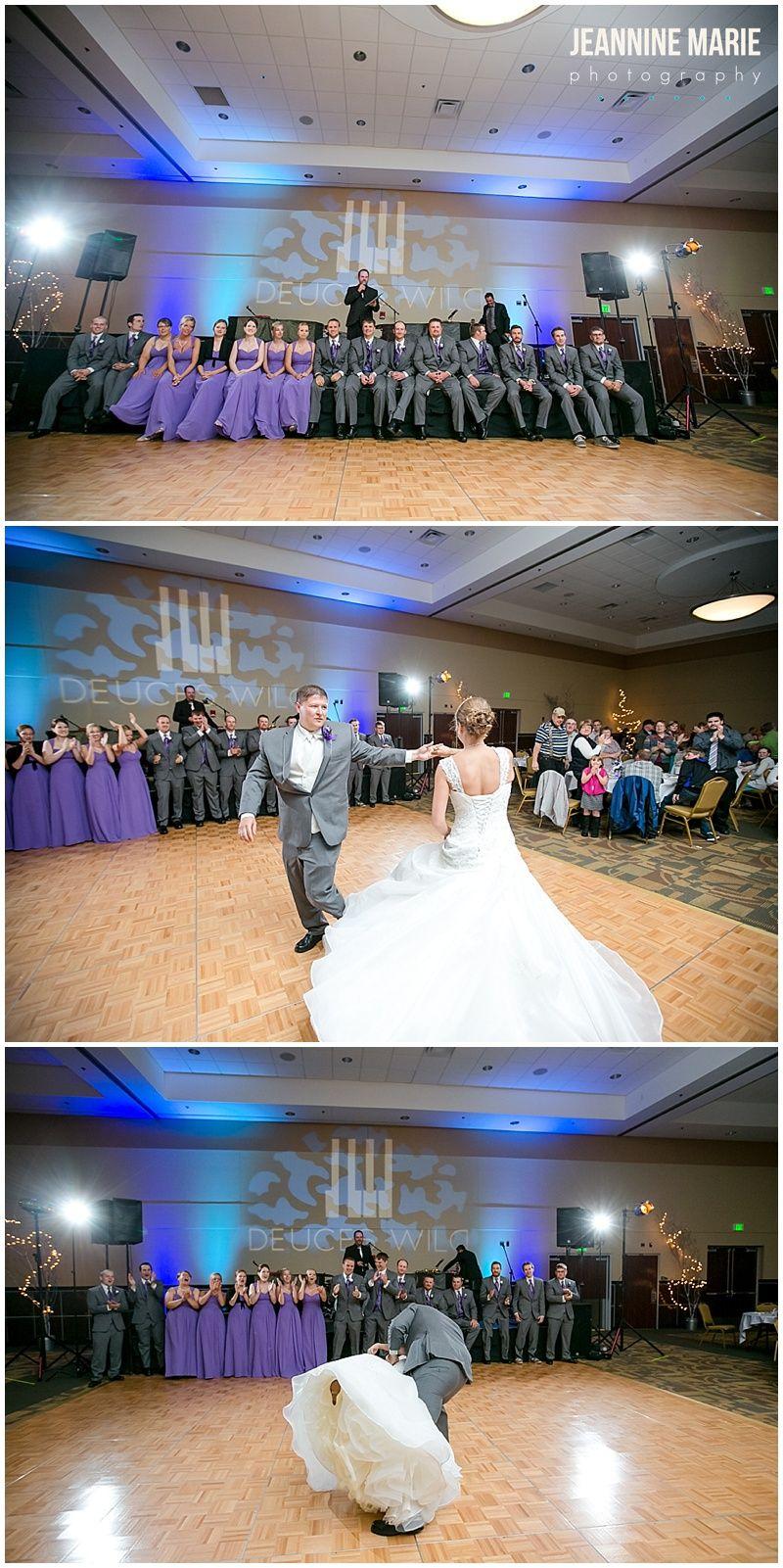 Wedding reception at Sanford Center in Bemidji