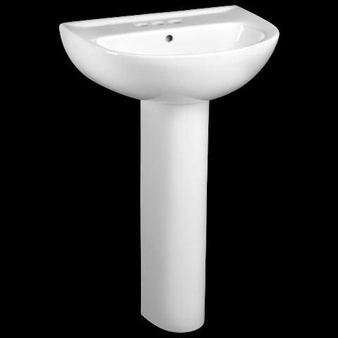 Evolution 24 Inch Pedestal Sink Shown In 020