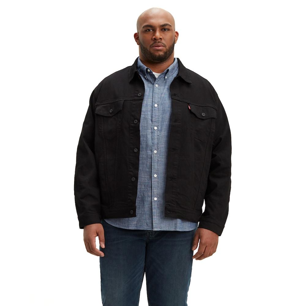 783d8543c8d02 Big   Tall Levi s Denim Trucker Jacket