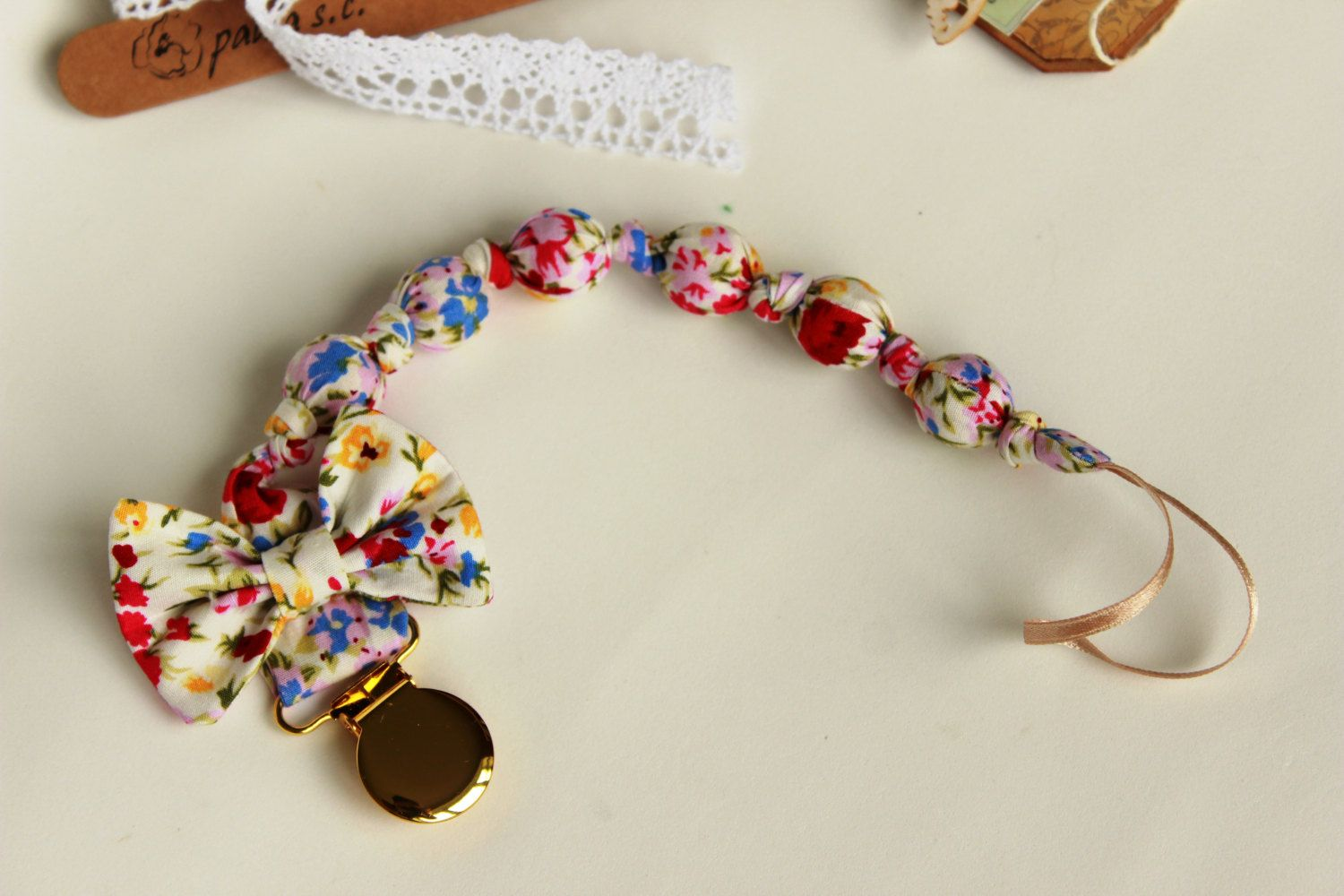 Girls Pacifier Clip Gifts for Baby Girl Baby Shower Gift