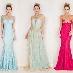 46f28a2df Top 7 vestidos Atelier Barbara Melo | Vestido de Festa | Prom ...