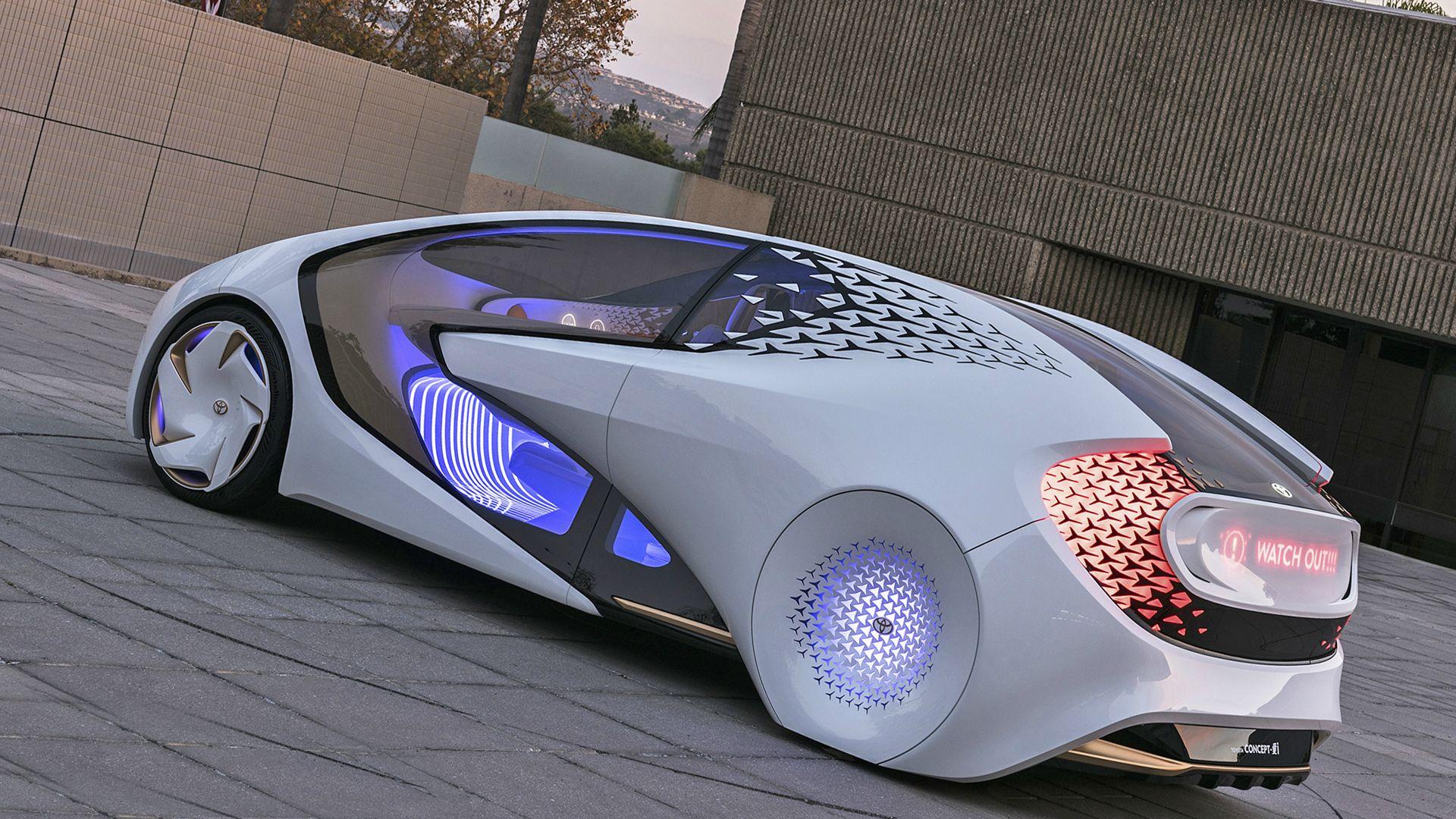 New 2019 Toyota Concept I Price Car Toyota Concept Cars