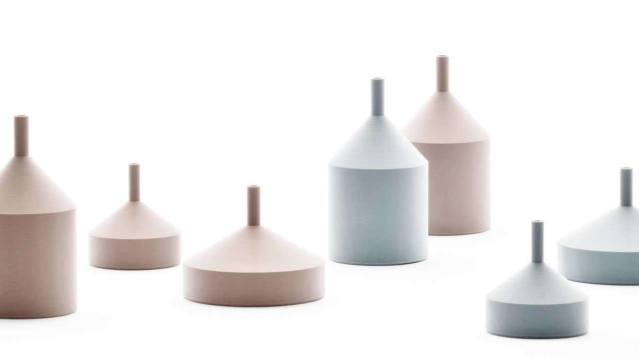 The 3d Printed Unfinished Vase By Doogdesign Design Milk Modern Ceramics Vase