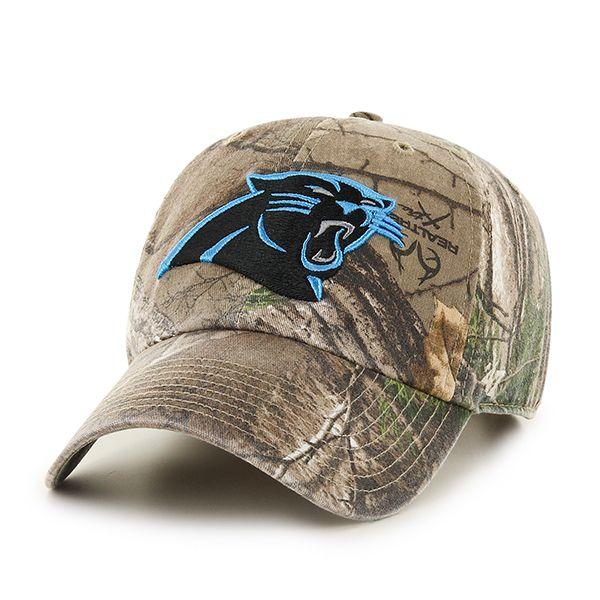 Carolina Panthers Realtree Clean Up Realtree 47 Brand Adjustable Hat ... 7578ea699