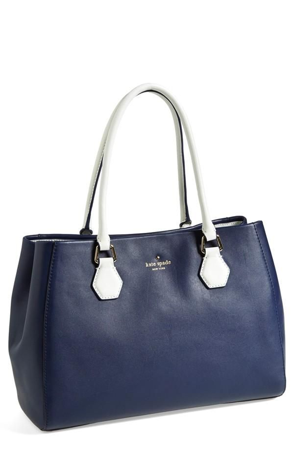 Toting This Gorgeous Kate Spade Bag In The Office