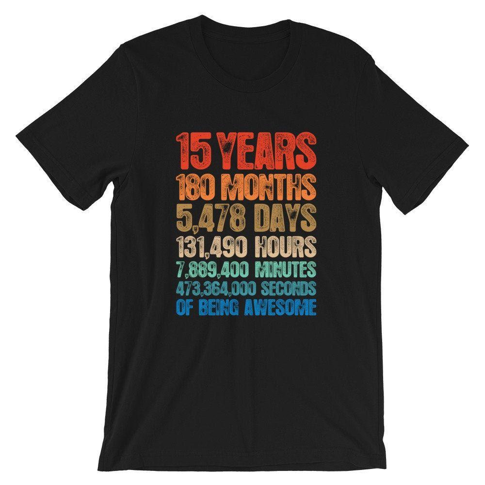15th Birthday Shirt / Hoodie / Sweatshirt Birthday