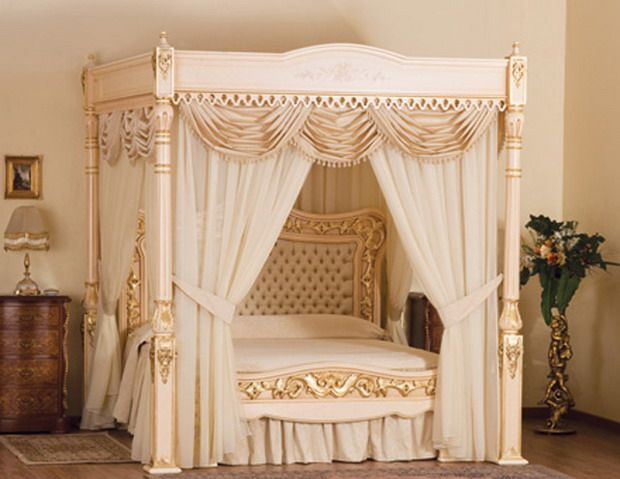 Exclusive Classic Canopy Bed Luxurious Design, Baldacchino Supreme By  Stuart Hughes   Home Design Inspiration