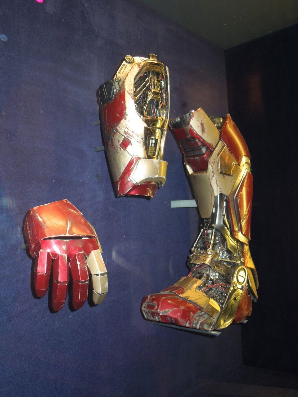 Iron Man 3 Boot And Gauntlet Props Iron Man Cosplay Iron Man Iron Man 3