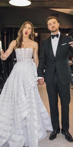 12 Celebrity Wedding Dresses And Itss Clones