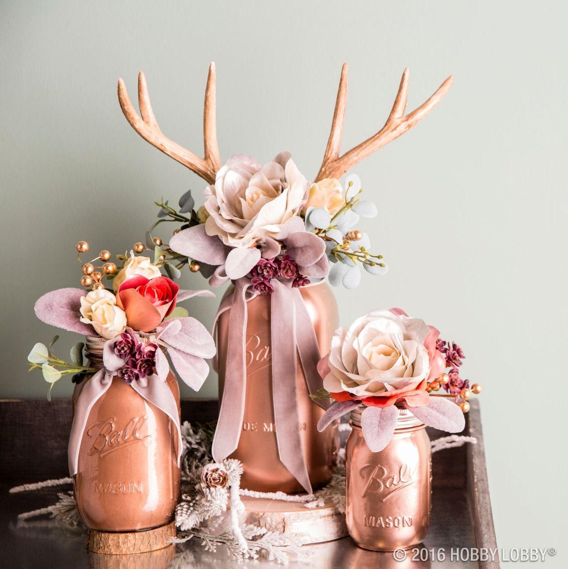 Metallic Rose Gold Krylon ColorMaster Spray Paint & Primer | Deer ...