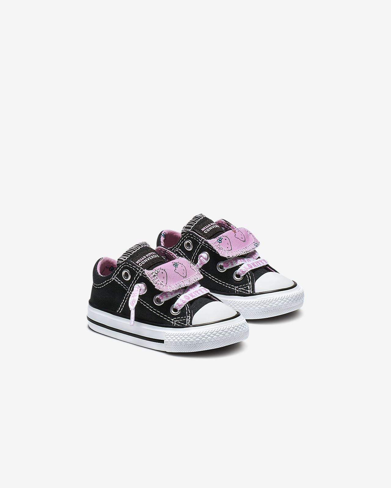 ade1bf4f034da Converse x Hello Kitty Chuck Taylor All Star Maddie Low Top Baby ...