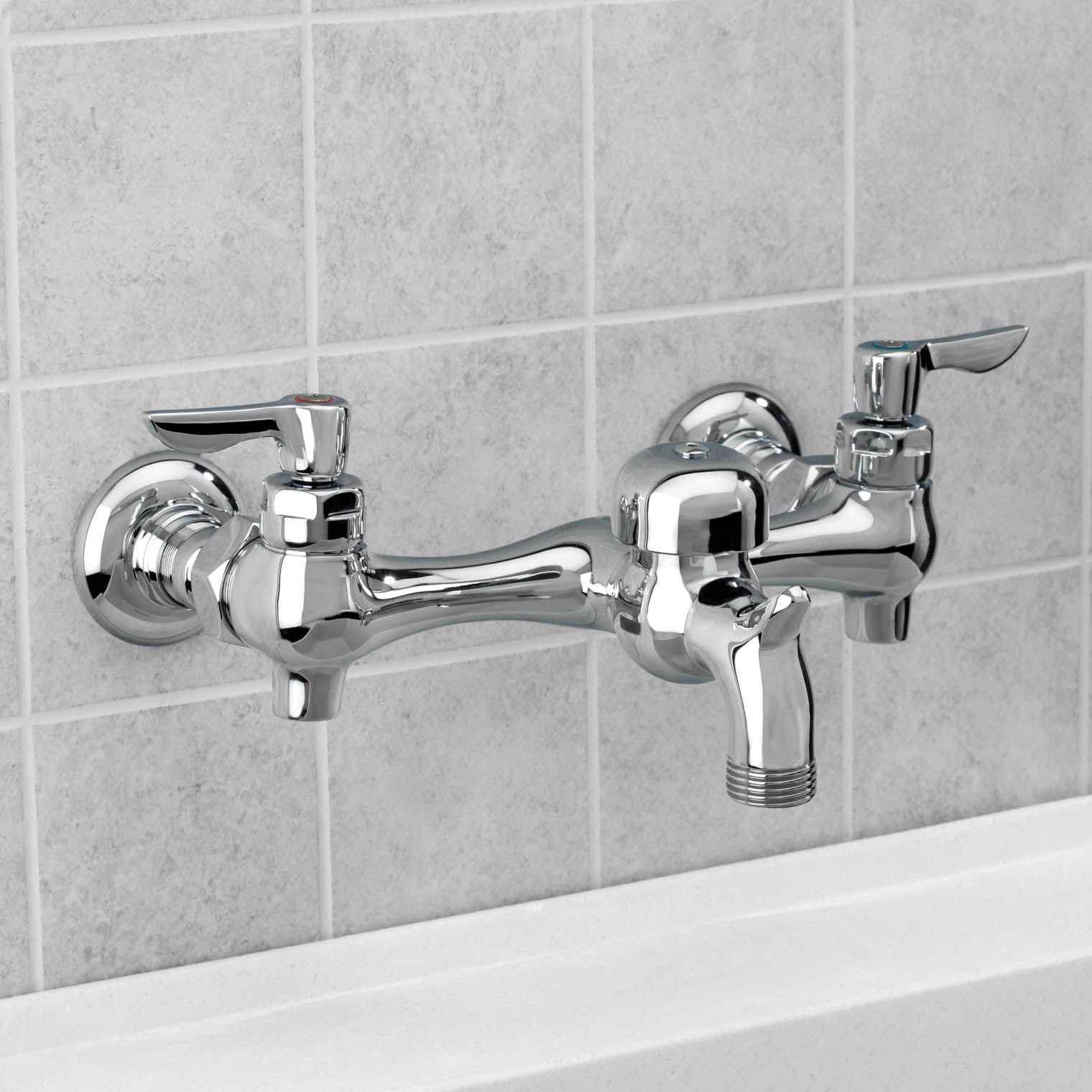 Wall Mount Utility Sink Faucet With Images Sink Faucets