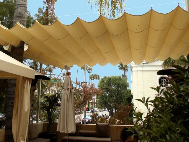 Outdoor Retractable Cover