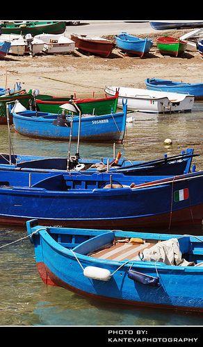 Ready for fishing (San Vito, Polignano a Mare, Puglia)