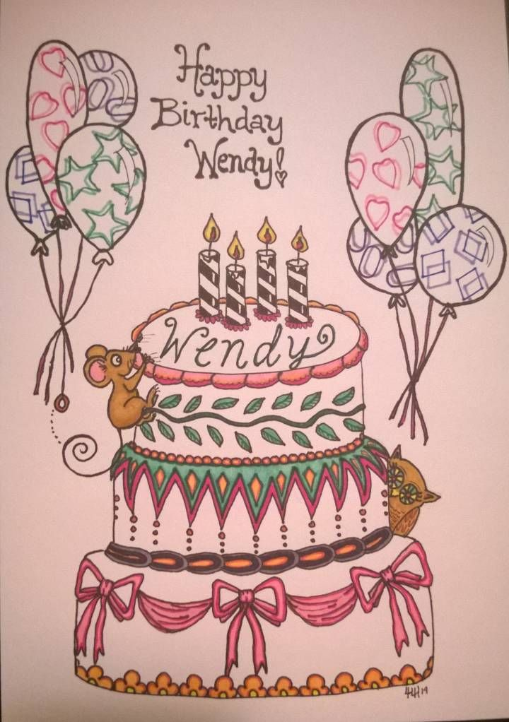 Happy Birthday Wendy Hope You Like Surprises So Far This