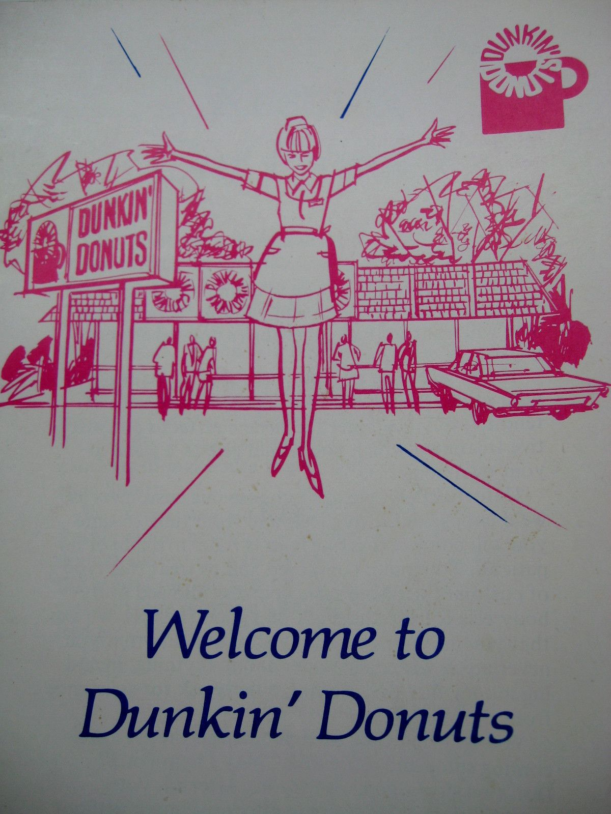 Vintage Dunkin Donuts Employee Training Manual Donut Shop, Dunkin Donuts,  Manual, Vintage Advertisements