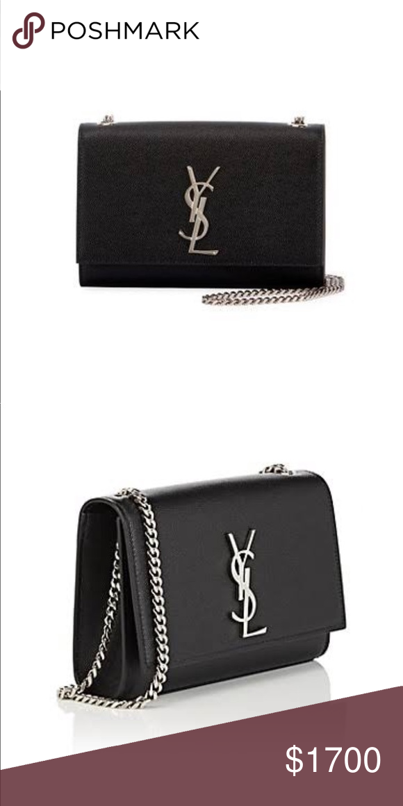 BLACK YSL SMALL KATE CROSSBODY 100% authentic! Details coming soon. Used  once or twice. Yves Saint Laurent Bags cb0c674610b00
