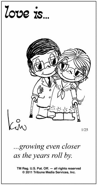 The One About Love Is... Love is cartoon, Love is comic