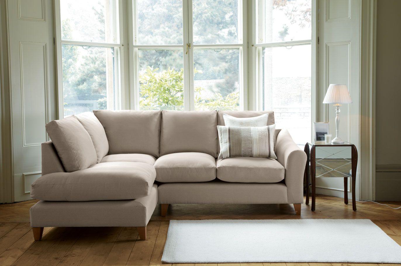 Baslow Upholstered Corner Unit Left Hand Laura Ashley