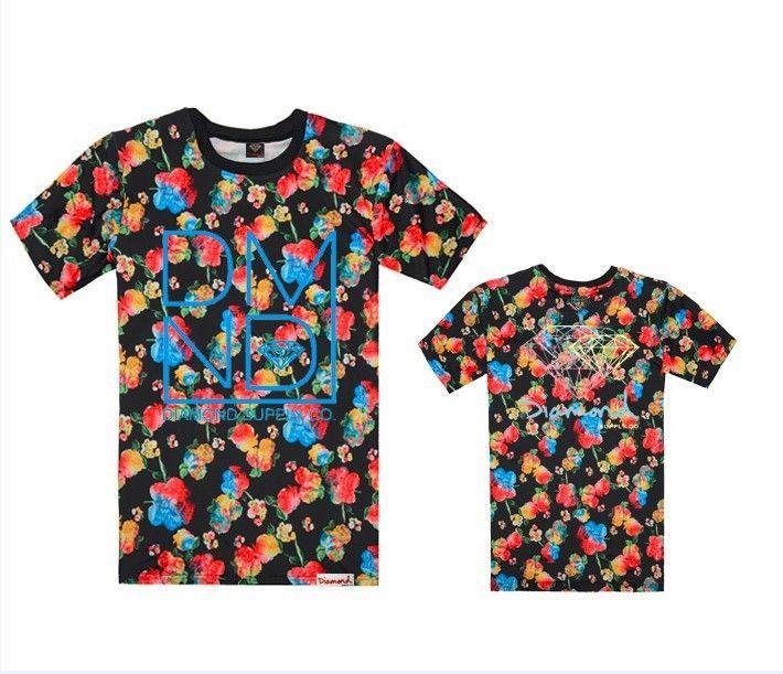 Diamond Supply co t shirts clothes men fashion short sleeve t ...