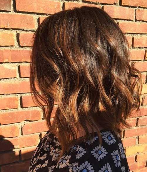 30 Ideen über Kurze Braune Haare Mit Highlights Friseur Pinterest