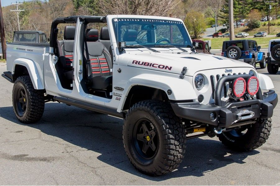 Awesome 2014 AEV Brute Double Cab No Doors Front Passenger Angle View