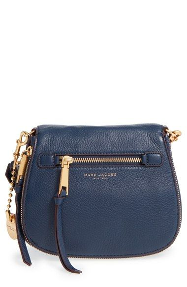 c2be41c09 Free shipping and returns on MARC JACOBS Small Recruit Nomad Pebbled  Leather Crossbody Bag at Nordstrom.com. A sized-down crossbody in a chic  saddle-bag ...