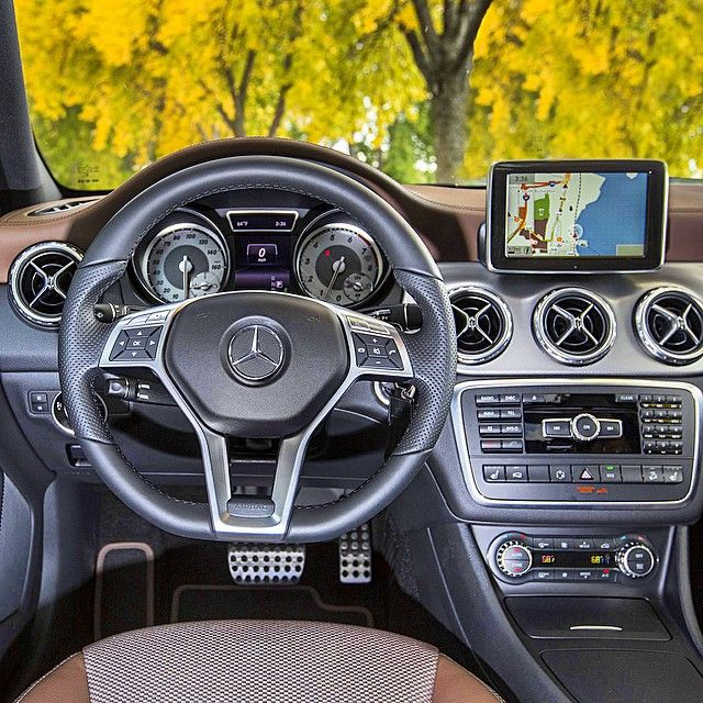 As Fall Shows Its Colors Outside The Gla250 Edition 1 Shows Its Own In Here Exclusive Interior Features Include Two Tone Seats Wi Mercedes Benz Mercedes Benz
