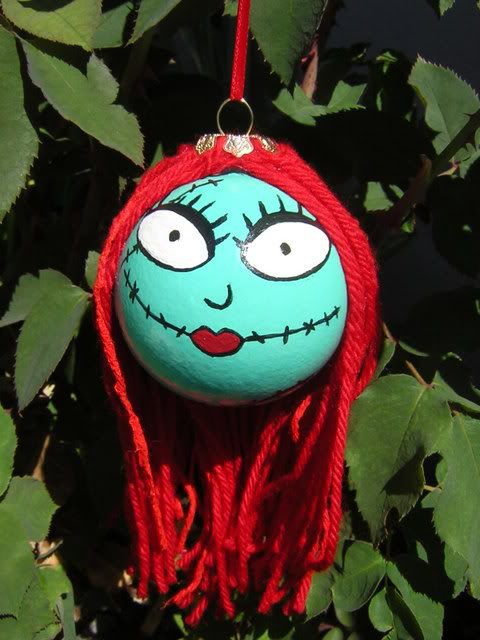 Nightmare Before Christmas Sally Ornament Disney -Sealed