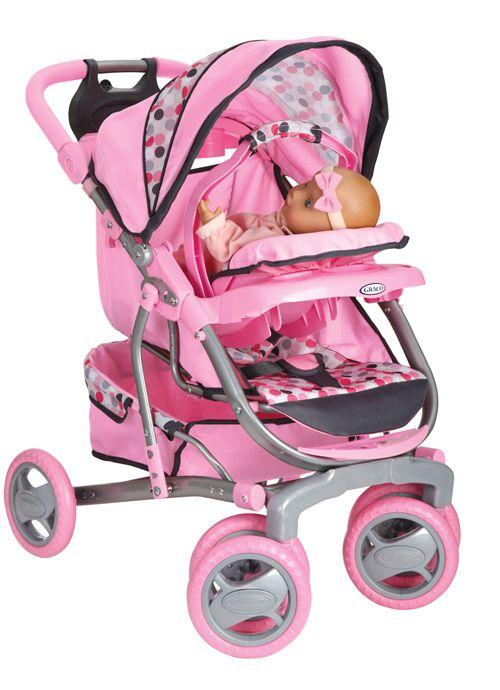 Tollytots Graco Baby Doll Stroller Baby Dolls