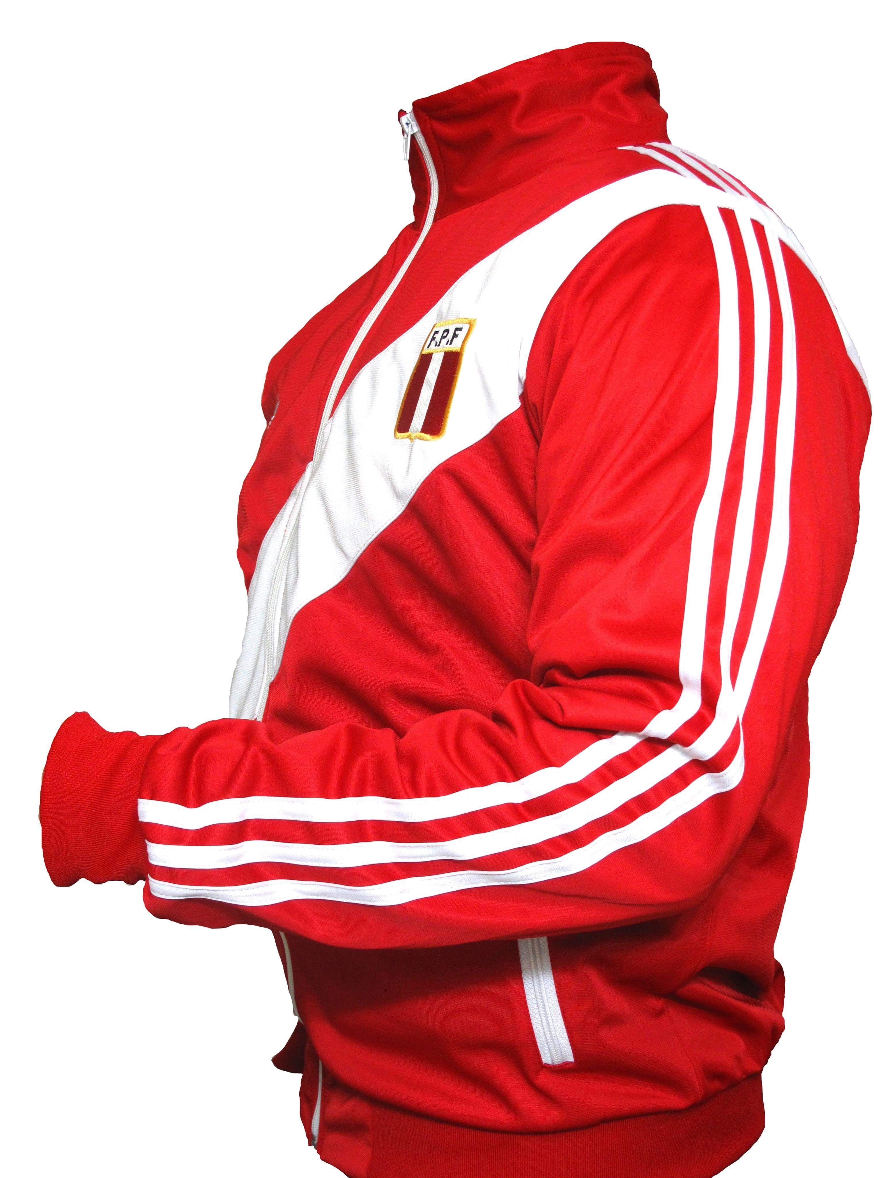 cefafb617 Adidas Peru national team soccer jersey World Cup ARGENTINA 78 ...