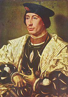 Jan Gossaert, Retrato de Balduino de Borgoña, h. 1530- 1540