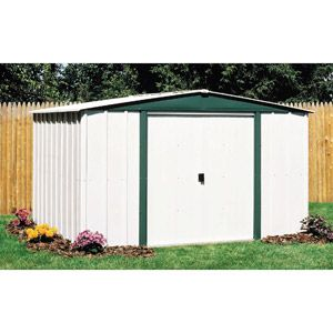 Walmart Arrow Hamlet 10 X 8 Steel Storage Shed Steel Storage Sheds Shed Storage Metal Shed