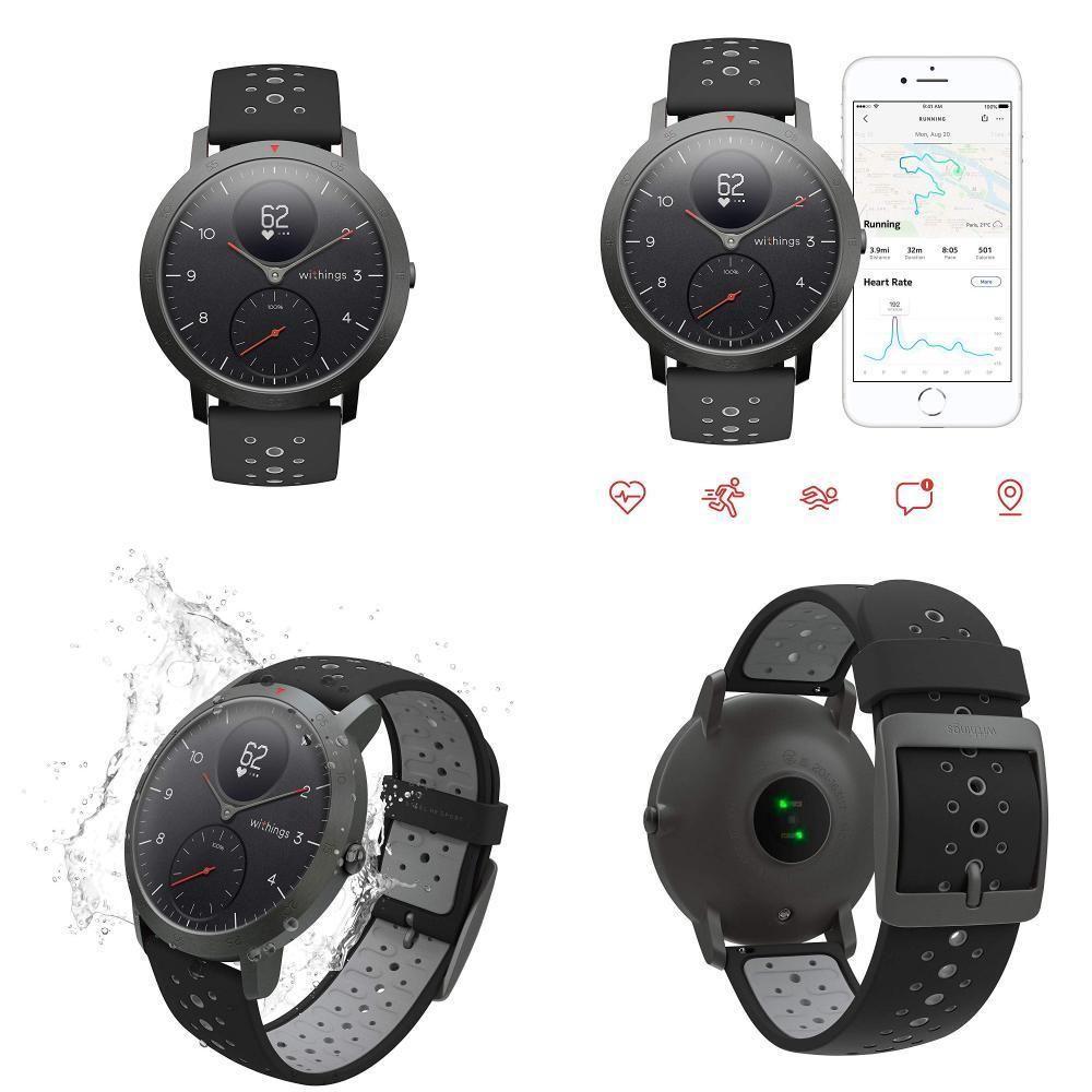Withings Nokia Steel Hr Sport Smartwatch 40mm Activity Tracker Heart Rate Smart Watch Activity Tracker Samsung Gear Watch