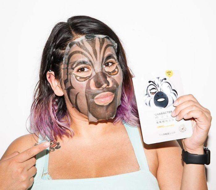 Nourishing mask fun animal prints