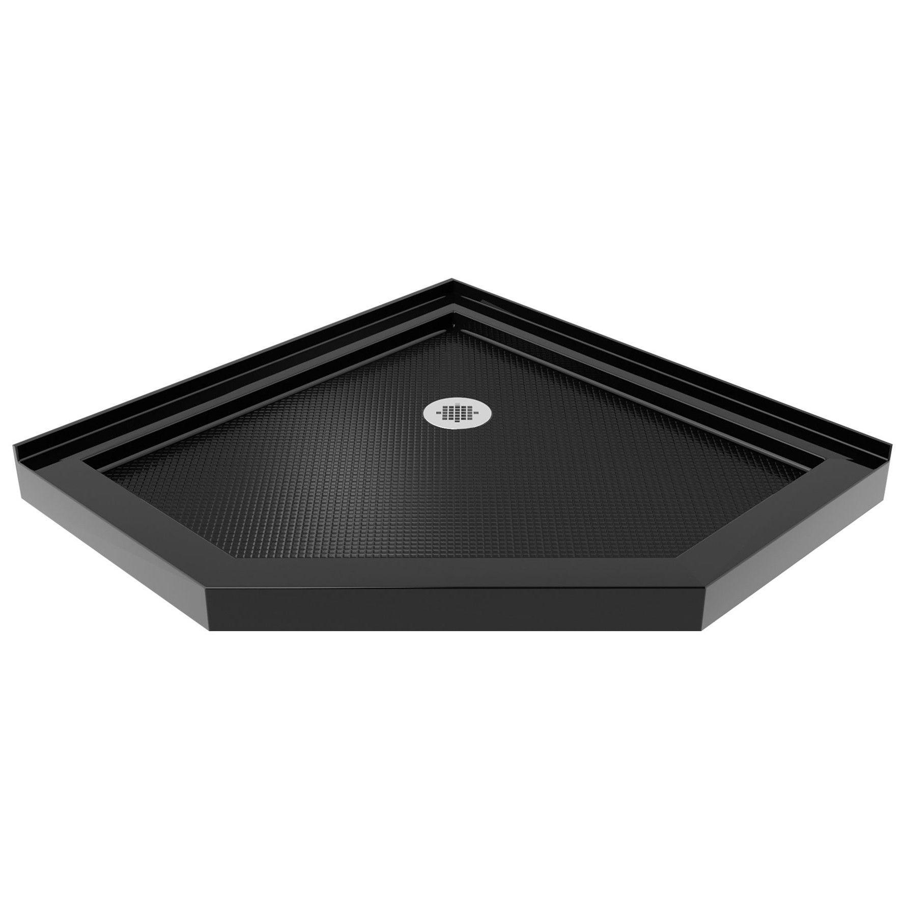 Slimline 42 X 42 Neo Angle Single Threshold Shower Base Neo