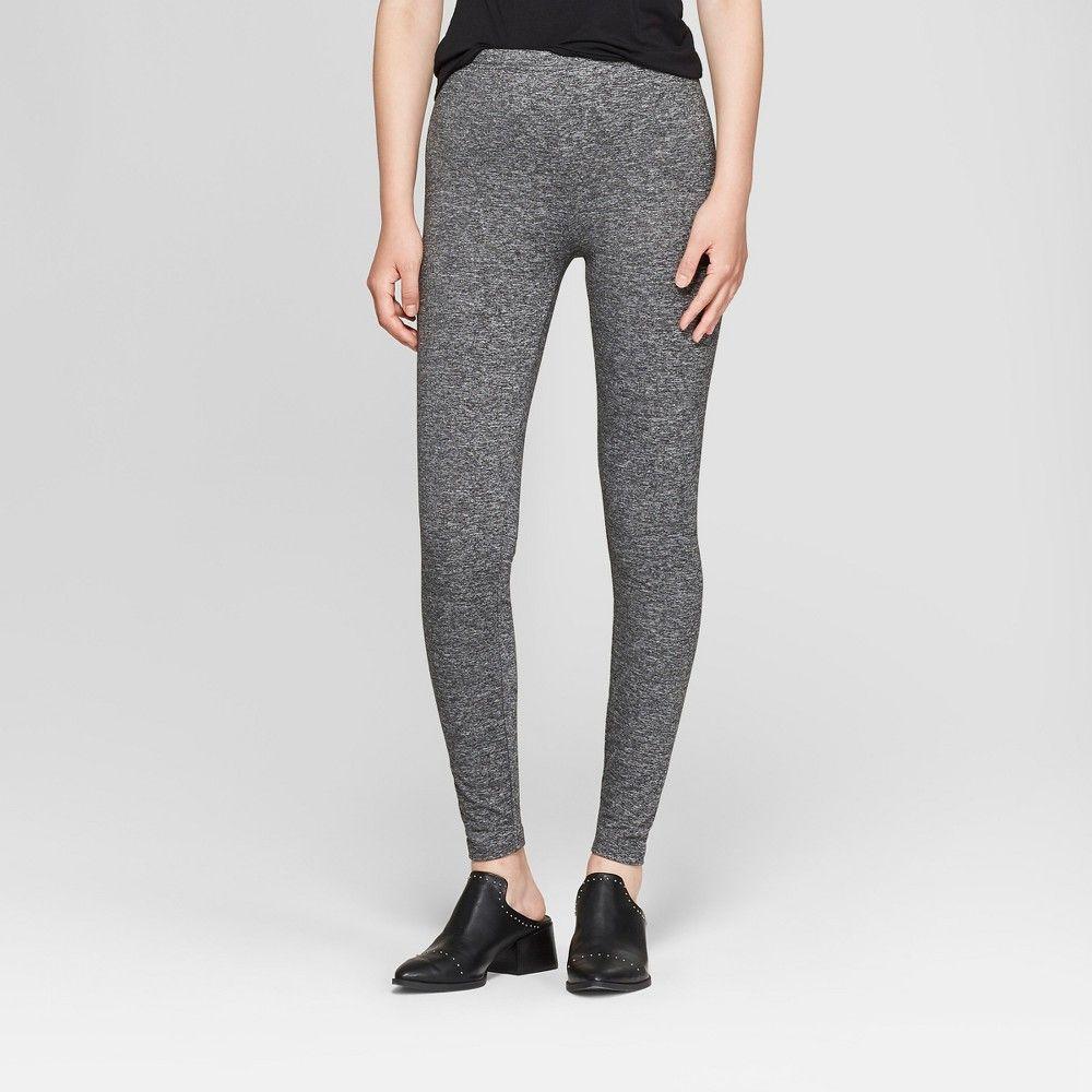 bd21ba6bdae474 Pattern: Solid. Material: Polyester.. Women's Super Soft Leggings -  Xhilaration Heather Gray XL #Apparel #Legwear #Hosiery #HosieryLeggings