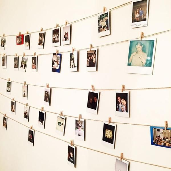 Uoonyou Urban Outfitters Polaroid Room Polaroid Display
