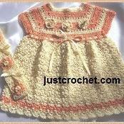 JC79NB Dress+, Baby Crochet Pattern - via @Craftsy