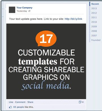 Great tool from hubspot you can you add your own graphics and 17 customizable powerpoint templates shareable graphics on social media toneelgroepblik Image collections