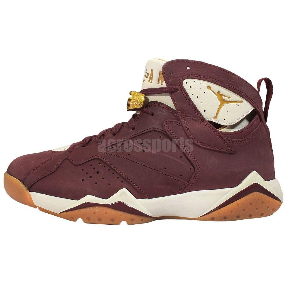 925967515581e Nike Air Jordan 7 VII Retro Cigar Championship Pack Red AJ7 Shoes 725093-630
