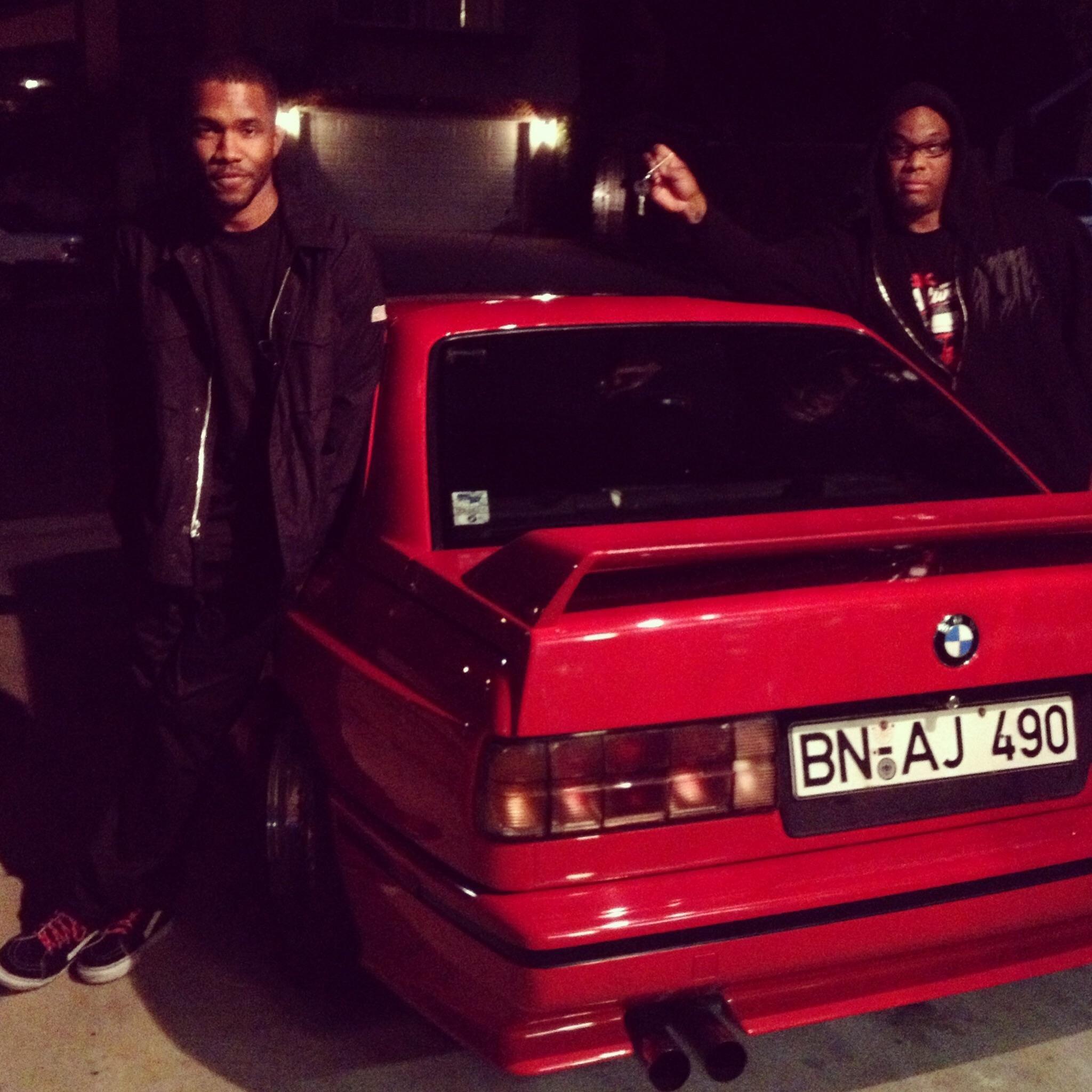 Frank Ocean buying my neighbor Jon's E30 M3 BMW cars M3